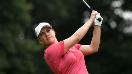 Caroline Masson in guter Position bei der Indy Women in Tech Championship 2019 der LPGA Tour. (Foto: Getty)