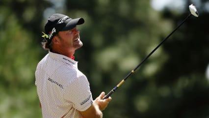 PGA Tour: Alex Cejka startet vielversprechend vor Rundenabbruch