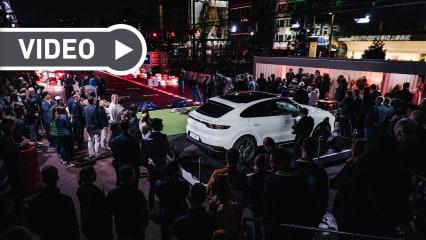 Die Porsche European Open 2019 feierte einen gelungenen Auftakt auf dem Hamburger Kiez bei der Porsche Urban Golf Challenge. (Foto: Porsche / Tobias Kuberski)