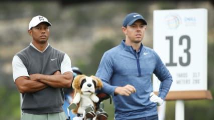 Tiger Woods tritt im Sonderformat gegen Rory McIlroy an