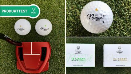 Wir haben die White Nugget Golfbälle ausführlich unter die Lupe genommen. (Foto: Golf Post)