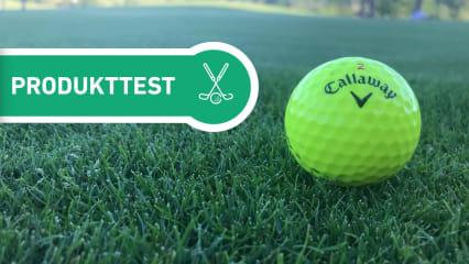 Genau hingesehen haben wir bei den aktuellen Callaway Golfbällen.