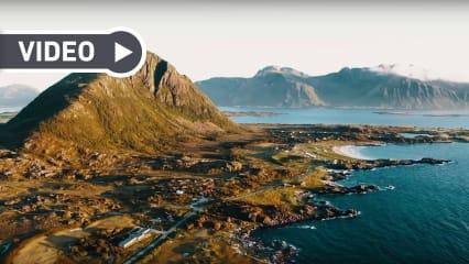 Adventures in Golf: Nordlichter und die beeindruckende Wirkung der Natur