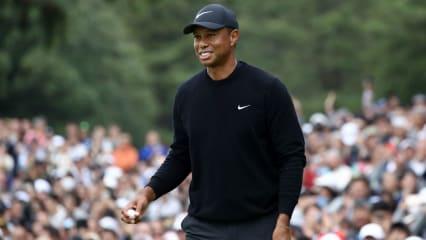 Bei der Zozo Championship hat sich Tiger Woods in die geteilte Führung gespielt. (Foto: Getty)