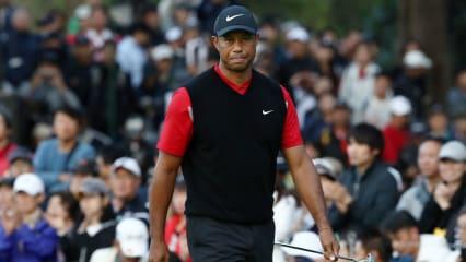 Tiger Woods geht mit drei Schlägen Vorsprung in das Finale der Zozo Championship 2019. (Foto: Getty)