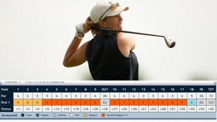 Proette fängt sich 58 Strafschläge bei der Senior LPGA Championship ein