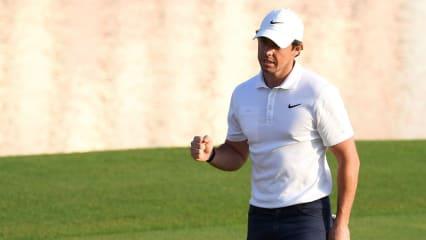 Rory McIlroy war 500 Wochen in den Top 10 der Weltrangliste. (Foto: Getty)