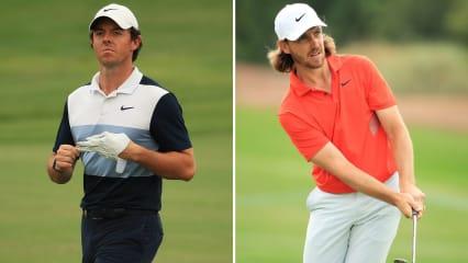 Rory McIlroy und Tommy Fleetwood sind zur Zeit gut in Form. (Foto: Getty)