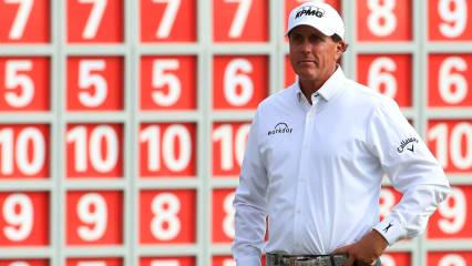 Derzeit liegt Phil Mickelson in der Golf Weltrangliste auf dem 51. Rang. (Foto: Getty)