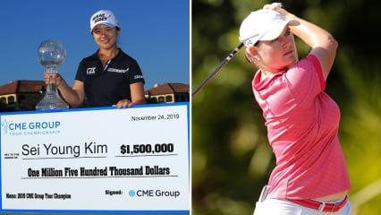 Sei Young Kim aus Japan gewinnt das letzte Turnier der LPGA Tour 2019, Caro Masson wird Elfte. (Foto: Getty)