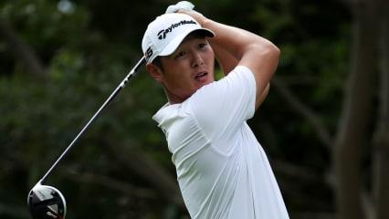 Danny Lee führt bei der Mayakoba Golf Classic das Feld an. (Foto: Getty)
