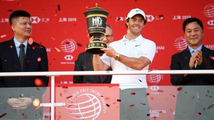 Rory McIlroy ist nicht nur der Vorjahressieger des FedEx-Cups, sondern setzt sich auch bei der HSBC Champions durch und sammelt wichtige Punkte. (Foto: Getty)
