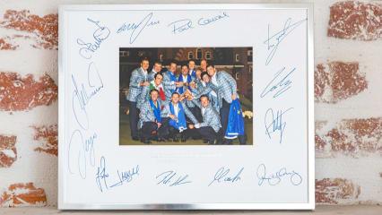 Die Ryder-Cup-Sieger 2012: Handsigniertes Foto von Team Europa zu versteigern. (Foto: Unitedcharity)