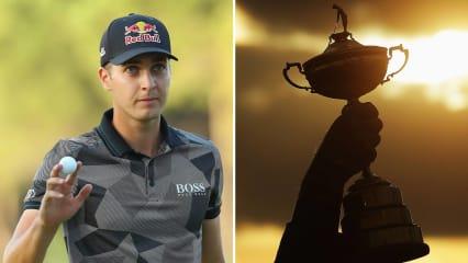 Einer der Aufsteiger der Saison wird nun mit dem Ryder Cup in Verbindung gebracht: Matthias Schwab. (Foto: Getty)