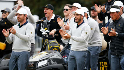 Presidents Cup: Team International vor historischem Erfolg