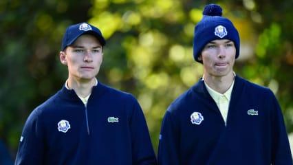 Rasmus und Nicolai Hojgaard stehen ab sofort bei Adidas Golf unter Vertrag. (Foto: Getty)