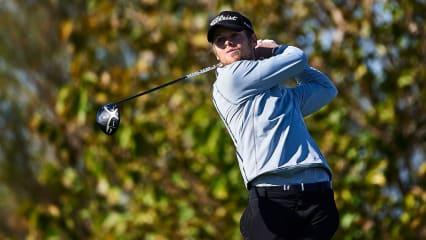 Hurly Long teet bei der Australian PGA Championship auf. (Bildquelle: Getty)