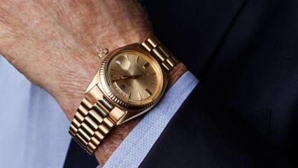 Die berühmte Rolex-Uhr von Jack Nicklaus wurde am Dienstag für über eine Millionen US-Dollar vesteigert. (Foto: Getty)