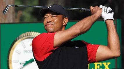 Tiger Woods startet auf der PGA Tour am frühen Abend in die erste Runde. (Foto: Getty)