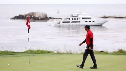 Tiger Woods und Pebble Beach - eine besondere Beziehung. (Bildquelle: Getty)