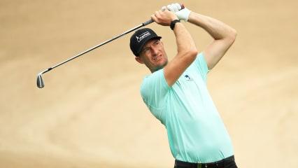 Sebastian Heisele in dem Top 10 der Omega Dubai Desert Classic 2020 der European Tour. (Foto: Getty)