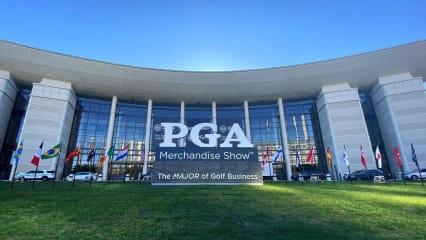 Golf Post inmitten der größten Golfmesse der Welt