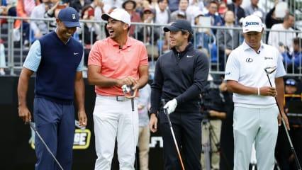PGA Tour Tee Times: Tiger Woods beginnt am Abend