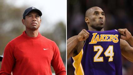 """Tiger Woods über Kobe Bryant: """"Wir waren uns ähnlich"""""""