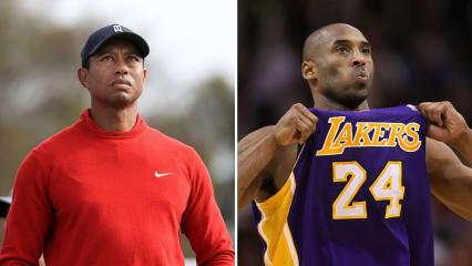Tiger Woods spricht über den Tod von Basketball-Legende Kobe Bryant. (Foto: Getty)