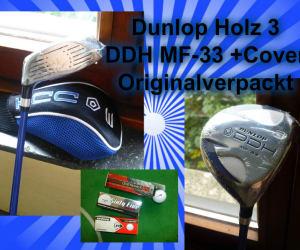 Holz 3 DUNLOP DDH MF-33