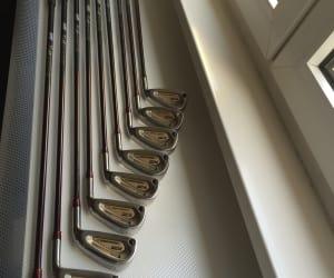 SELTENHEIT! 9 (!) GRAPHIT Herren-Golfschläger Eisen GOLFGEAR (vergl. Mizuno/Ping)