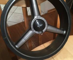 Antriebsräder, Reifen, Hinterräder Caddy One 700/750