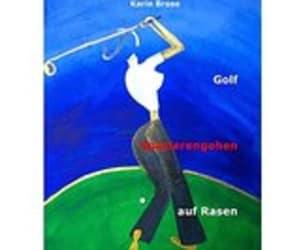 """""""Golf-Spazierengehen auf Rasen"""""""