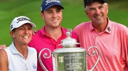 PGA Champ.: Furioses Finale mit Justin Thomas als strahlendem Sieger