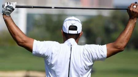 48 Minuten, 117 Schläge: So macht sich Tiger Woods für Turniere warm