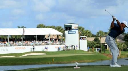 PGA Tour: Tiger Woods mit seiner besten Runde bei der Honda Classic