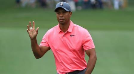 """""""Er ist wieder da"""": Tiger Woods sorgt für Staunen und Jubel"""