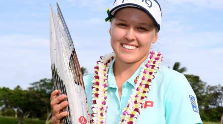 LPGA Tour: Brooke Henderson gewinnt windige Lotte Championship