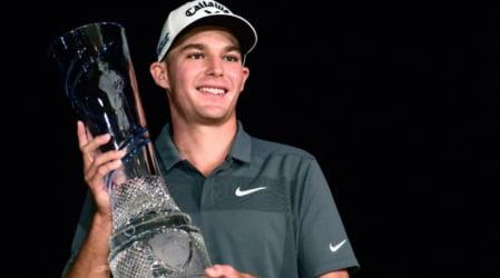 Aaron Wise gewinnt sein erstes Turnier auf der PGA Tour