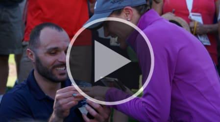 "Video: ""Ja, ich will"" - Justin Thomas hilft bei Heiratsantrag"