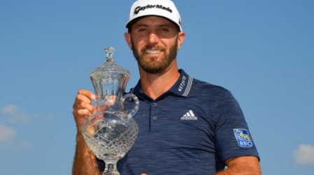 PGA Tour: Dustin Johnson gewinnt mit spektakulärem Finish