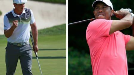 PGA Tour: Bryson DeChambeau übernimmt die Führung, Tiger Woods entert die Top 10