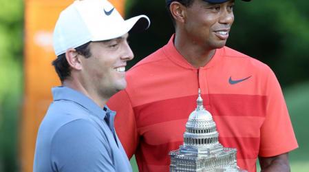 PGA Tour: Tiger Woods in Top 5 bei Molinari-Sieg