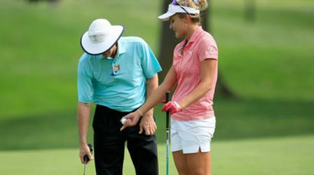 Die Absurdität mancher Golfregeln am Beispiel Lexi Thompson