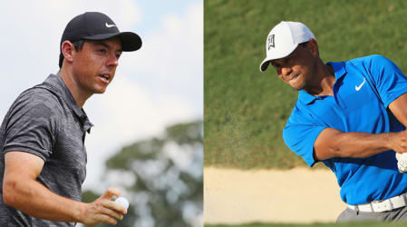 PGA Tour Tee Times: Tiger Woods und Rory McIlroy im finalen Flight