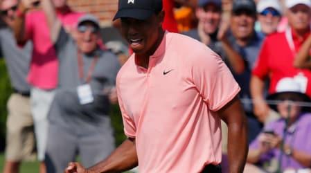 PGA Tour: Tiger Woods führt bei der Tour Championship