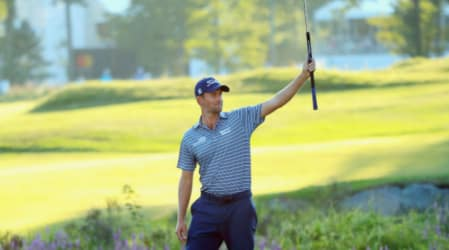 PGA Tour: Webb Simpson mit fulminantem Finish zur Führung
