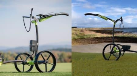 Kiffe Golf mit neuem Elektro-Trolley zum Weihnachtsgeschäft