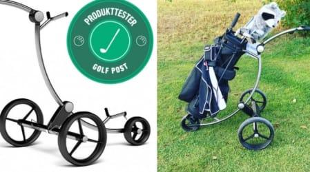 Elektro-Trolley im Test: Der GolfQuant 3E