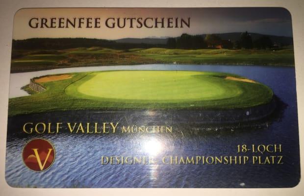 15 x Greenfee Golf Valley München